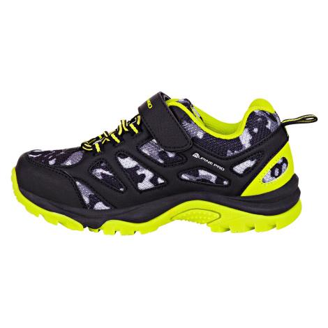 Dětská obuv Alpine Pro ARDMORO - reflexní žlutá