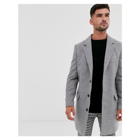 New Look overcoat in grey