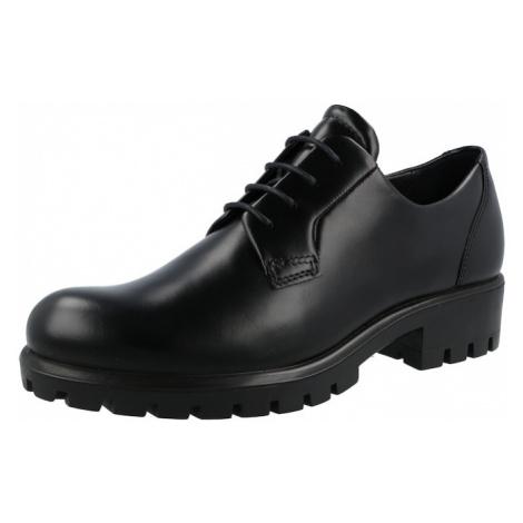 ECCO Šněrovací boty černá