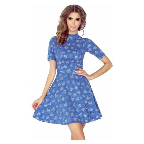 Dámské šaty Morimia 011-1 | džínová