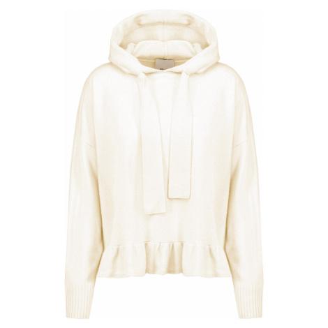 Vlněný svetr ALLUDE bílá