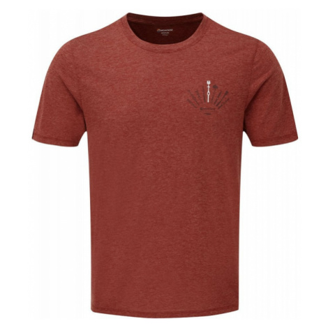 Pánské tričko Montane Trad redwood