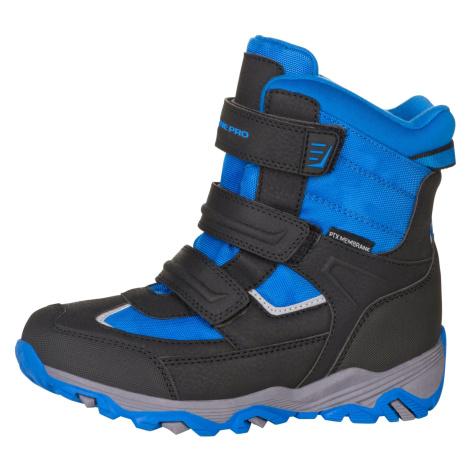 Dětská zimní obuv Alpine Pro ACACIO - modrá