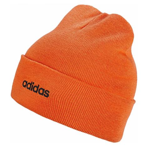 Čepice adidas Light Beanie Oranžová / Černá