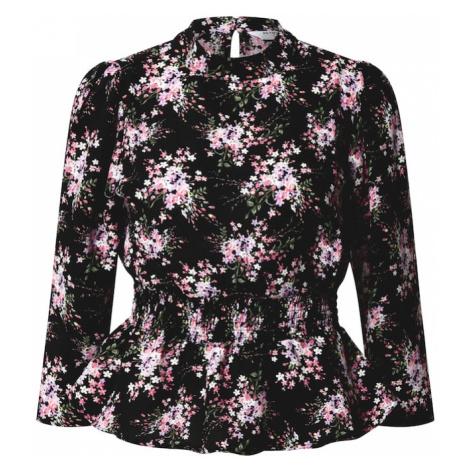 Dorothy Perkins Tričko černá / bílá / růžová / zelená