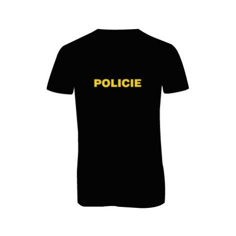 Pánské triko s výstřihem do V Policie