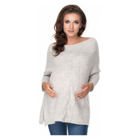 Těhotenský svetr model 135981 PeeKaBoo universal Pee Ka Boo