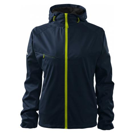 Malfini Cool Dámská softshellová bunda 51402 námořní modrá