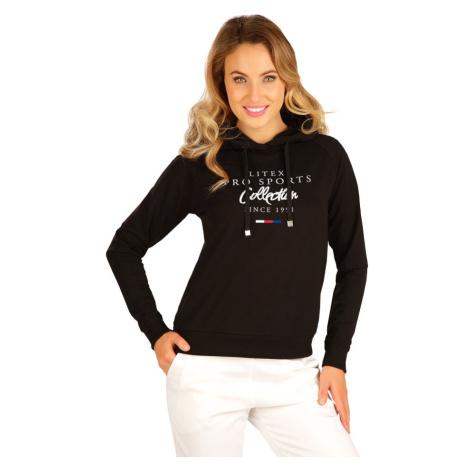 LITEX Mikina dámská s kapucí 5B224901 černá