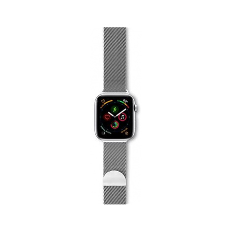 Epico Milanese Band For Apple Watch 42/44 mm - stříbrný
