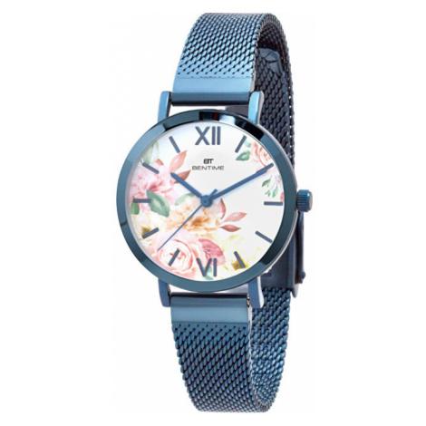 Bentime Dámské květinové hodinky 008-9MB-PT610119E