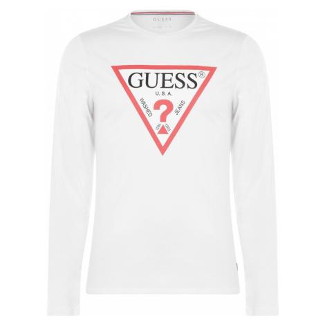 Guess Long Sleeve Original T Shirt
