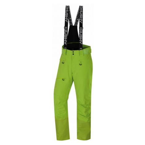 Pánské lyžařské kalhoty HUSKY Gilep M zelená