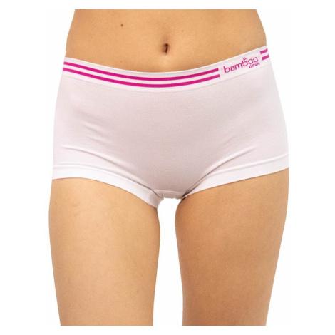Women's bamboo panties Gina white (03010)