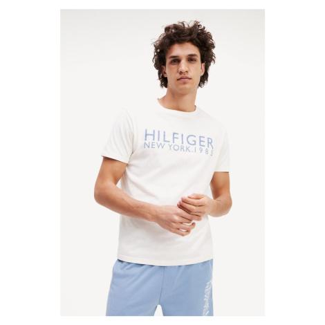 Tommy Hilfiger Logo Tričko New York pánské - bílé