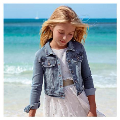 Dívčí riflová bunda Mayoral 6161 | modrá