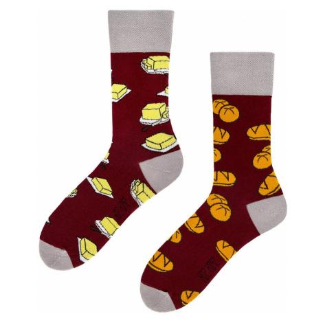 Ponožky Spox Sox - Houska s máslem multikolor