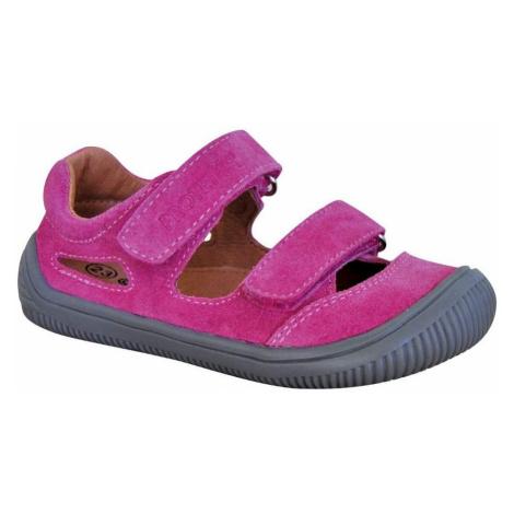 dívčí boty sandály Barefoot BERG FUXIA, Protetika, fuchsia