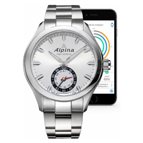 Alpina Horological Smartwatch AL-285S5AQ6B