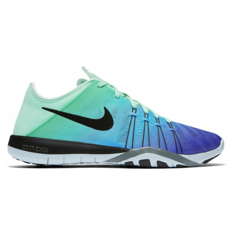 Dámské tréninkové boty Nike Free TR6 Modrá / Zelená