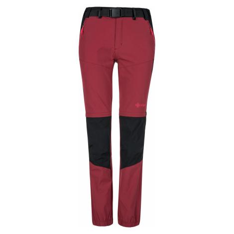 KILPI Dámské outdoorové kalhoty HOSIO-W KL0071KIDRD Červená