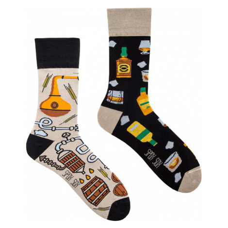 Vícebarevné ponožky Whisky Socks Spox Sox