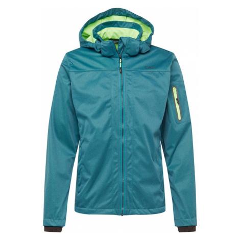 CMP Outdoorová bunda nefritová / svítivě zelená / tmavě šedá