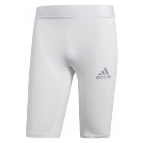 adidas ALPHASKIN SPORT SHORT TIGHTS M bílá - Pánské spodní trenky