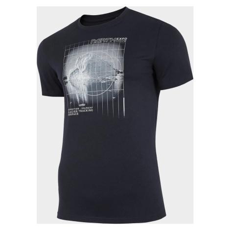 Pánské tričko 4F TSM227 Tmavě modré