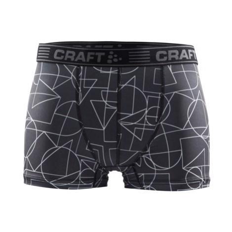 """Boxerky CRAFT Greatness 3"""" černá/bílá"""
