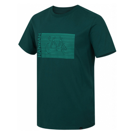 Pánské tričko Hannah Castor evergreen