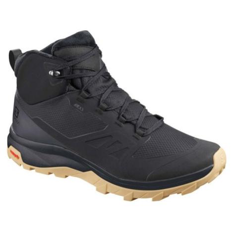 Salomon OUTSNAP CSWP černá - Pánská zimní obuv