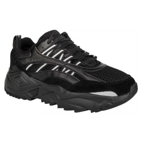 Umbro NEPTUNE LE černá - Pánská volnočasová obuv