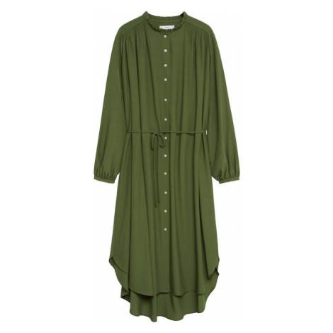 MANGO Košilové šaty 'Farm' khaki