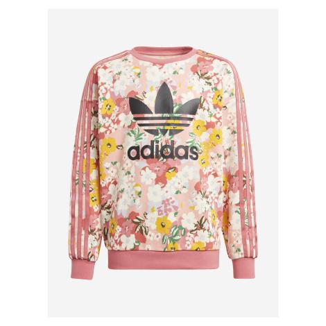 Her Studio London Mikina dětská adidas Originals Růžová