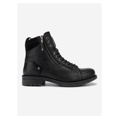 Hill Kotníková obuv Wrangler Černá