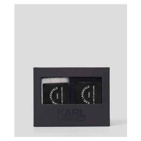 Ponožky Karl Lagerfeld Lounge Cashmere Blend Sock 2 - Různobarevná