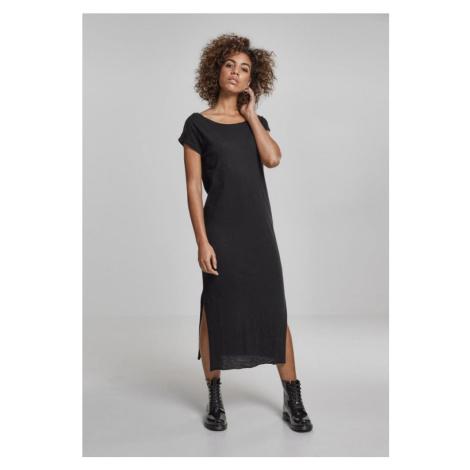 Ladies Slub Long Dress Urban Classics