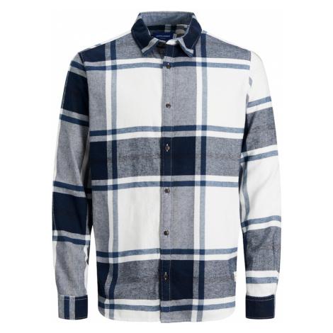 JACK & JONES Košile 'CURTIS' námořnická modř / bílá
