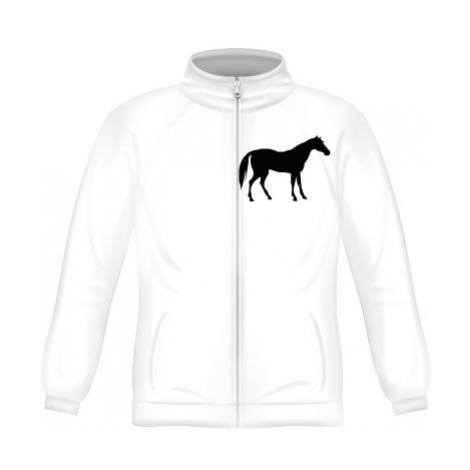 Pánská mikina zip FRUIT Kůň