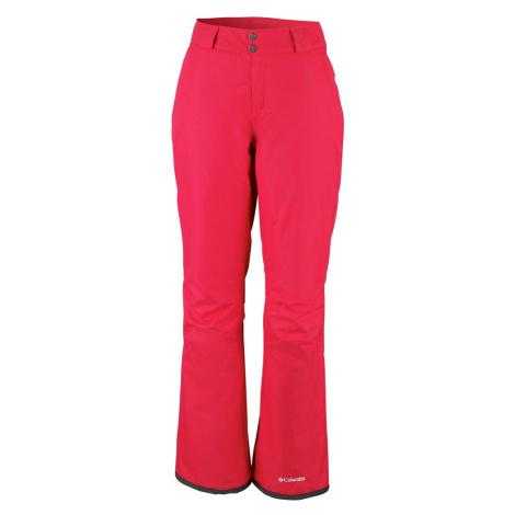 Kalhoty Columbia On the Slope™ II Pant W - červená XL/R