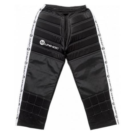 Unihoc GOALIE PANTS BLOCKER černá - Kalhoty pro gólmany