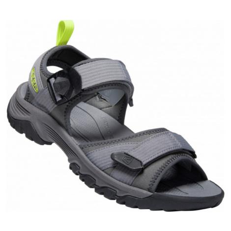 Pánské sandály KEEN Targhee III open toe H M steel grey/evening primrose
