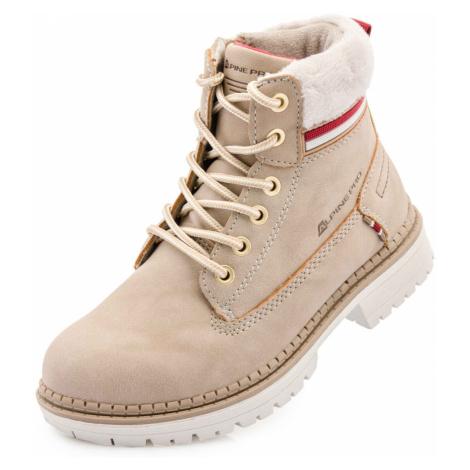 ALPINE PRO FEWRO Dětská zimní obuv KBTS268112G tělová