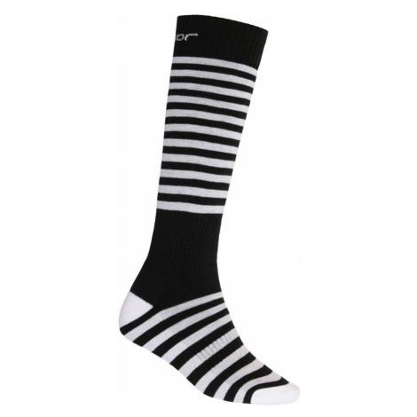 THERMOSNOW STRIPES Sportovní ponožky 19200060 černá Sensor