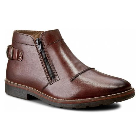 Kotníková obuv RIEKER - 35362-25 Brown