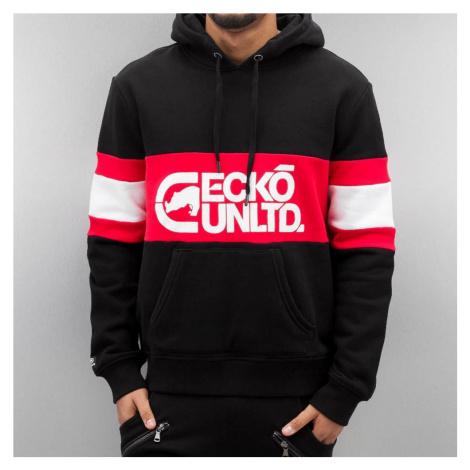 Mikina Ecko Unltd. / Hoodie Flagship in black
