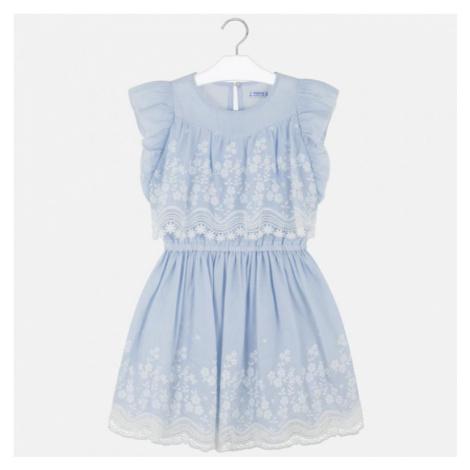 Dívčí šaty Mayoral 6977 | modrá