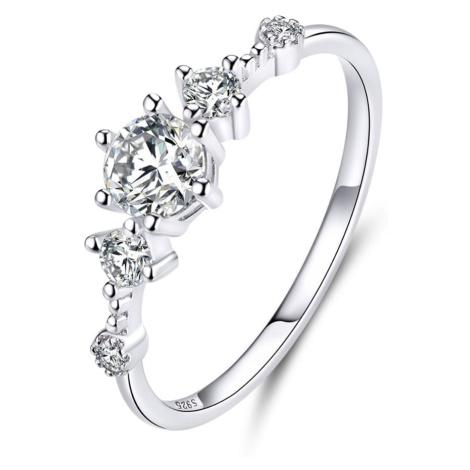 Linda's Jewelry Stříbrný prsten Hvězda Lásky Ag 925/1000 IPR080 Velikost: 56