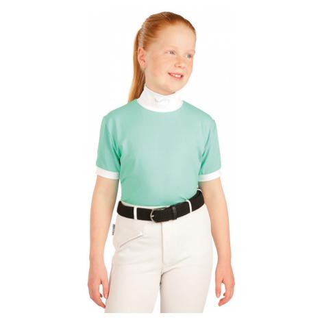 LITEX Triko dámské/dětské s krátkým rukávem. J1138600 světle zelená